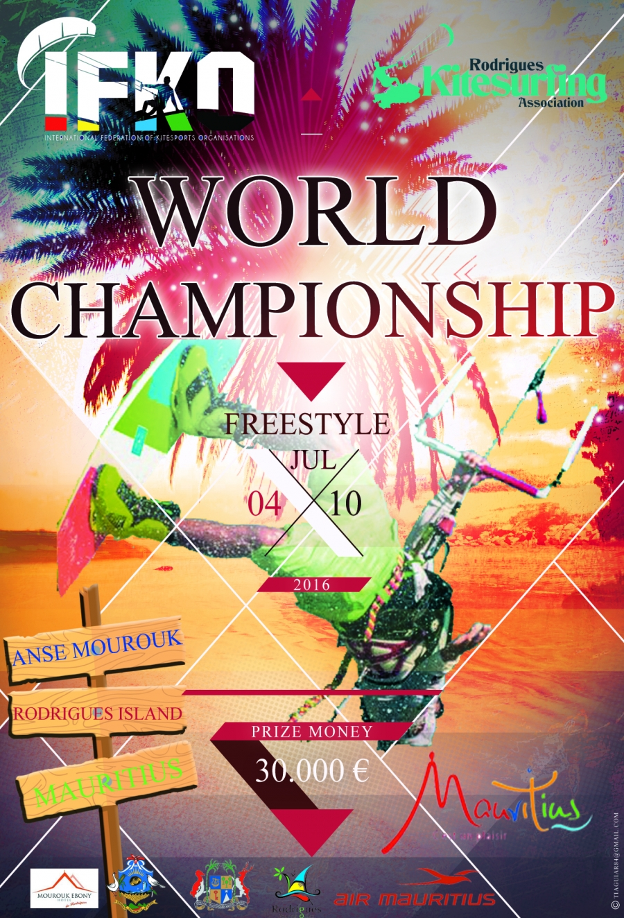 2016 IFKO Notice of Competition Freestyle WorldChampionship - Rodrigues Island