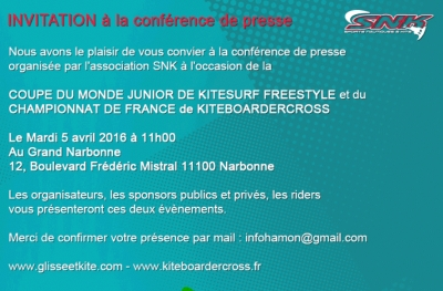 INVITATION TO PRESS CONFERENCE - SNK